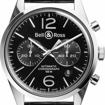 Bell & Ross Vintage BRG126-BL-ST-SCR nouveau