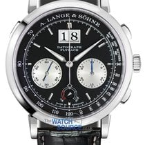 A. Lange & Söhne Platinum 41mm Manual winding Datograph new