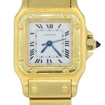 Cartier Santos Galbee 18K Yellow Gold Automatic Ladies...