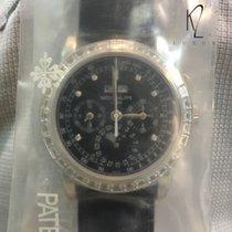 Patek Philippe 5971p-001 Platinum Perpetual Calendar Chronograph new