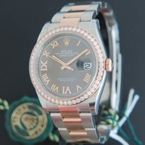 Rolex 126281RBR Goud/Staal Datejust (Submodel) 36mm