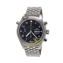 IWC Pilot Double Chronograph tweedehands 44mm Staal