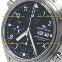 IWC Pilot Double Chronograph Acciaio 42mm Nero Arabi Italia, VICENZA