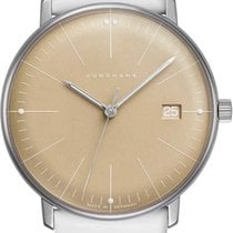 Junghans max bill Ladies Steel 32.7mm Yellow No numerals United States of America, Florida, Naples