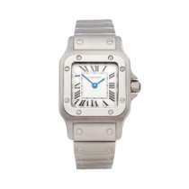 Cartier Santos Galbée Steel 23mm White Roman numerals United Kingdom, Bishop's Stortford