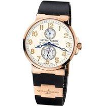 Ulysse Nardin Marine Chronometer 41mm новые Автоподзавод Часы с оригинальными документами и коробкой 266-66-3