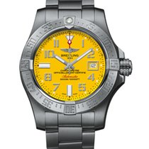 Breitling Avenger II Seawolf Steel 45mm Yellow Arabic numerals United States of America, New York, New York