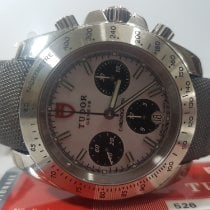 Tudor Sport Chronograph Steel 41mm White No numerals