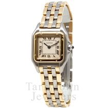 Cartier Panthère Gold/Steel 22mm Champagne Roman numerals United States of America, New York, Hartsdale