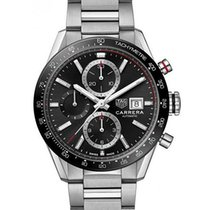 TAG Heuer Carrera Calibre 16 new 2019 Automatic Chronograph Watch only CBM2110.BA0651