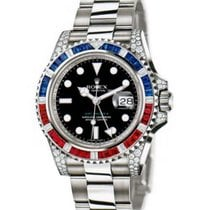 Rolex 116759SARU White gold 2008 GMT-Master II 40mm pre-owned