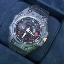 Linde Werdelin Carbon Automatic Black Arabic numerals 44mm pre-owned SpidoLite