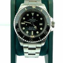 Rolex Sea-Dweller Deepsea Acier 44mm Noir Sans chiffres Belgique, Brussels