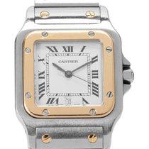 Cartier Santos Galbée W20011C4 1566 1996 pre-owned