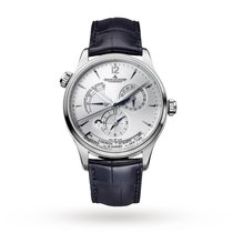 Jaeger-LeCoultre Master Geographic Stahl 39mm Silber