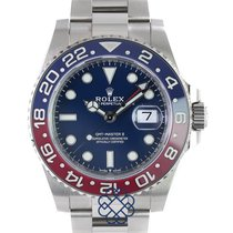 Rolex 126719BLRO White gold GMT-Master II pre-owned United Kingdom, Kingston Upon Hull