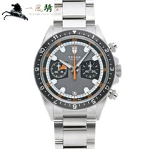 Tudor Heritage Chrono pre-owned 41mm Grey Steel