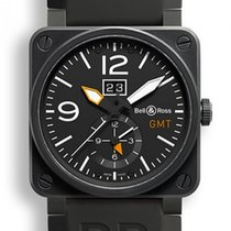 Bell & Ross BR 03-51 GMT Steel 42mm Black
