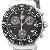 태그호이어 카본 쿼츠 검정색 38mm 중고시계
