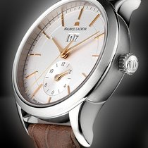 Maurice Lacroix Les Classiques Date Stahl 40mm Silber Keine Ziffern