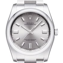 Rolex Oyster Perpetual 36 Steel 36mm Grey No numerals