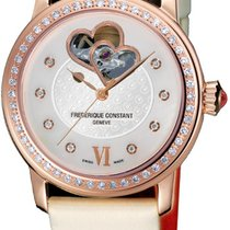Frederique Constant Ladies Automatic World Heart Federation Mother of pearl United States of America, New York, Brooklyn