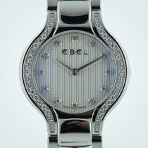 Ebel Beluga Ladies, Stainless Steel, Diamond Dial, Diamond...