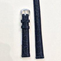 Franck Muller Strap, Blue Leather/18K white gold/Diamond...