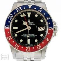 Rolex Uhr GMT Master Pepsi Edelstahl Ref.1675 Revision