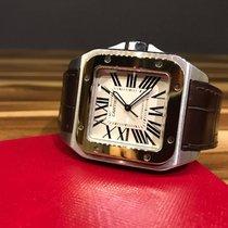 Cartier Santos 100 XL Large Steel Gold [2016]