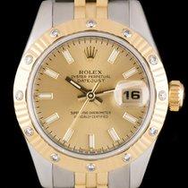 Rolex Datejust Steel & Gold 179313