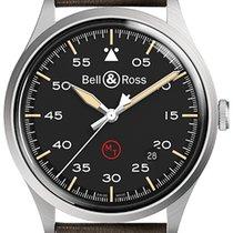 Bell & Ross BR V1 Сталь 38.5mm Черный Aрабские