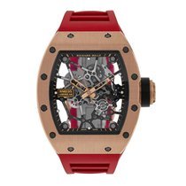 Richard Mille Rose gold 48mm Manual winding RM035 new United States of America, New York, New York