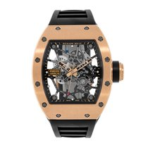 Richard Mille RM 035 Rose gold 48mm Transparent No numerals United States of America, New York, New York