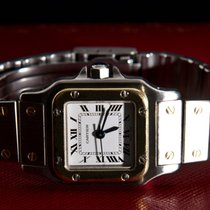 Cartier Santos Automatic (0,750) 18 K Solid Yellow Gold & Steel