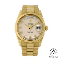 Rolex Day-Date II Yellow gold 41mm White Arabic numerals United States of America, New York, New York