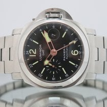 Panerai Luminor GMT Automatic pre-owned 44mm Steel