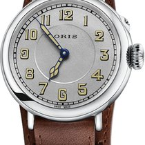 Oris Big Crown 1917 Limited Edition Steel 40mm Silver Arabic numerals United States of America, New York, New York City