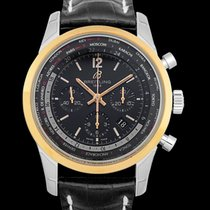 Breitling Transocean Chronograph Unitime Steel 46mm Black United States of America, California, San Mateo