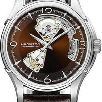 Hamilton Jazzmaster Open Heart new 2019 Automatic Watch with original box and original papers H32565595