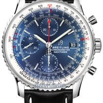 Breitling Navitimer Steel 41mm Blue United States of America, New York, Airmont