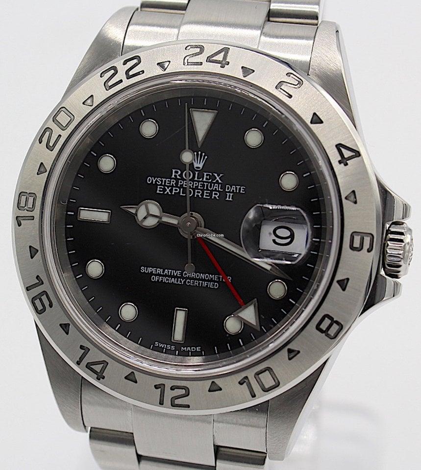 033bea70b82 Rolex Explorer II - Todos os preços de relógios Rolex Explorer II na  Chrono24