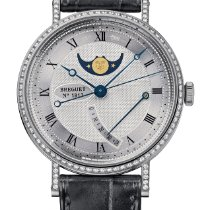 Breguet White gold 36mm Automatic 8788BB/12/986/DD00 new