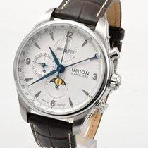 Union Glashütte Chronograph 43mm Automatic new Belisar Chronograph White