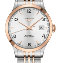 Longines new Automatic Center Seconds 38.5mm Gold/Steel Sapphire Glass