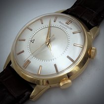 Jaeger-LeCoultre Yellow gold 37mm Automatic Jaeger Lecoutre memovox pre-owned