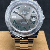 Rolex Datejust Acero 41mm Sin cifras
