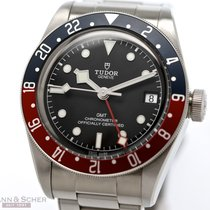 Tudor 79830RB Acier 2018 Black Bay GMT 41mm occasion
