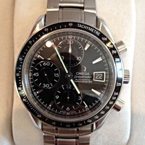 Omega Speedmaster Date Steel 40mm Black No numerals