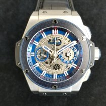 Hublot 701.NQ.0137.GR.SPO14 Titanium 2014 King Power 48mm pre-owned United States of America, Texas, Dallas